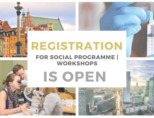 Registration for Workshops and Social Programme is open!