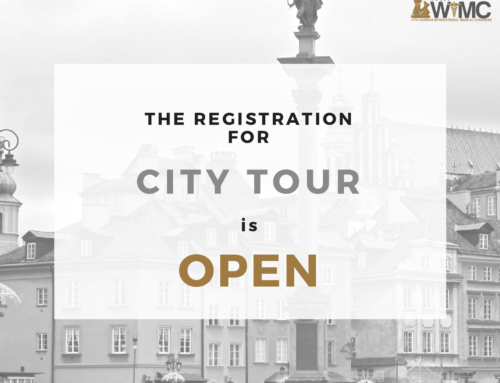 Registration for City Tours is OPEN!