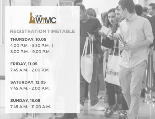 Registration timetable