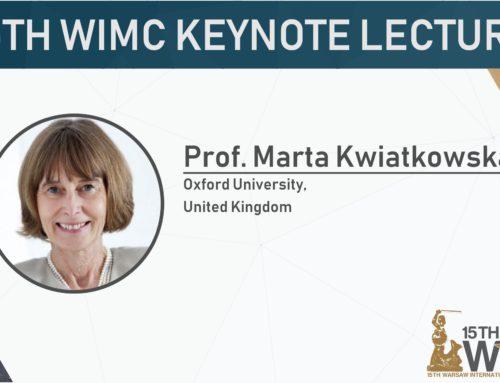 Keynote Speaker: Marta Kwiatkowska