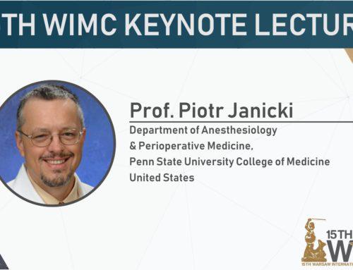 Keynote speaker: Piotr Janicki