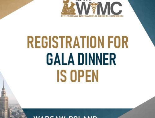 Registration for Gala Dinner