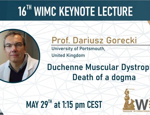 Saturday Keynote Speaker – Professor Dariusz Gorecki