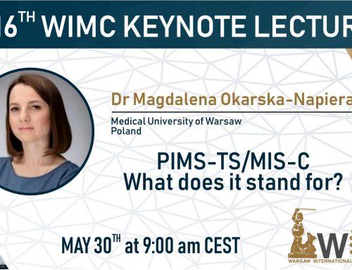 Sunday Keynote Speaker – Dr Magdalena Okarska-Napierała